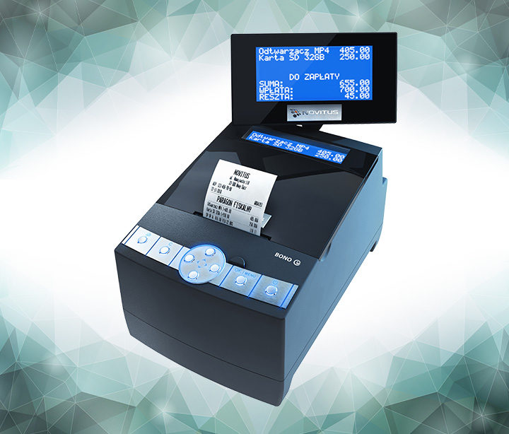 Bono E - popularna drukarka od Novitus