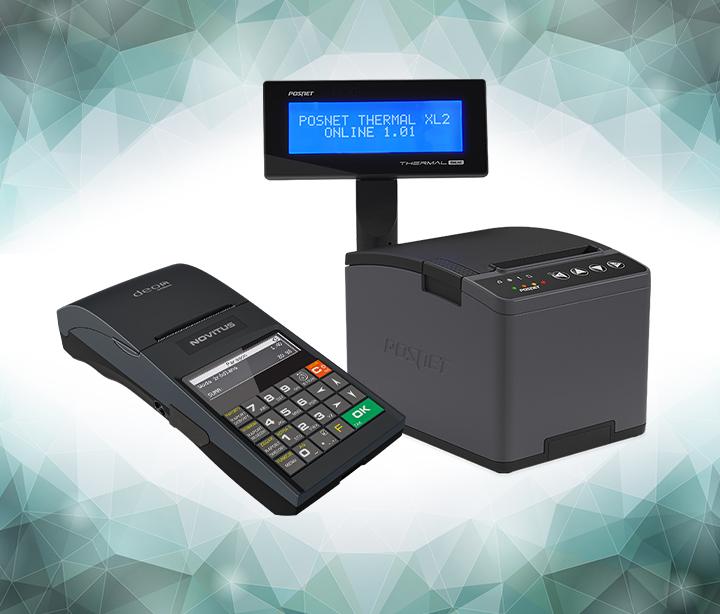 Novitus Deon Online i Posnet Thermal XL2 Online - drukarki rejestrujące
